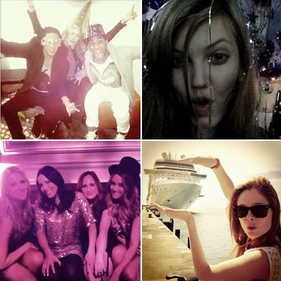 Pictures of Celebrities and Models on Twitter Jan. 3, 2012