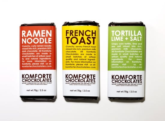 Komforte Chockolates Ramen Noodle Chocolate Bar