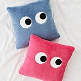 Urban Outfitters Googly Eyes Plush Throw Pillow
