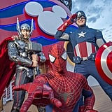 Disney Cruise Line's Marvel Day at Sea