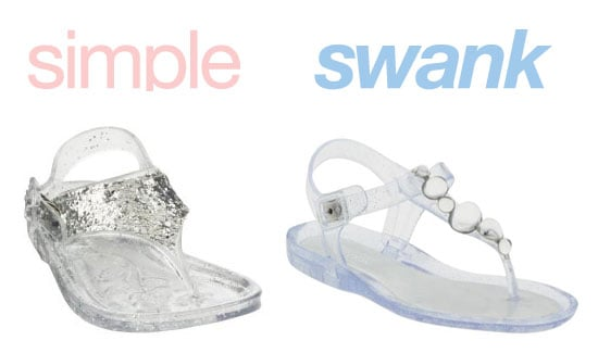 Simple or Swank: Jelly Shoes