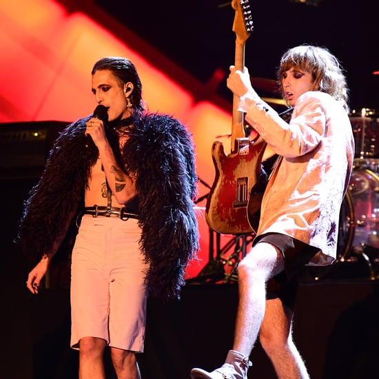"Måneskin Perform ""Beggin"" and ""MAMMAMIA"" on Jimmy Fallon"