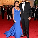 La La Anthony and Carmelo Anthony in 2012