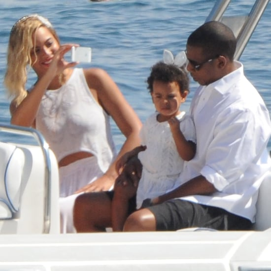 Beyonce and Jay Z on a Yacht With Blue Ivy