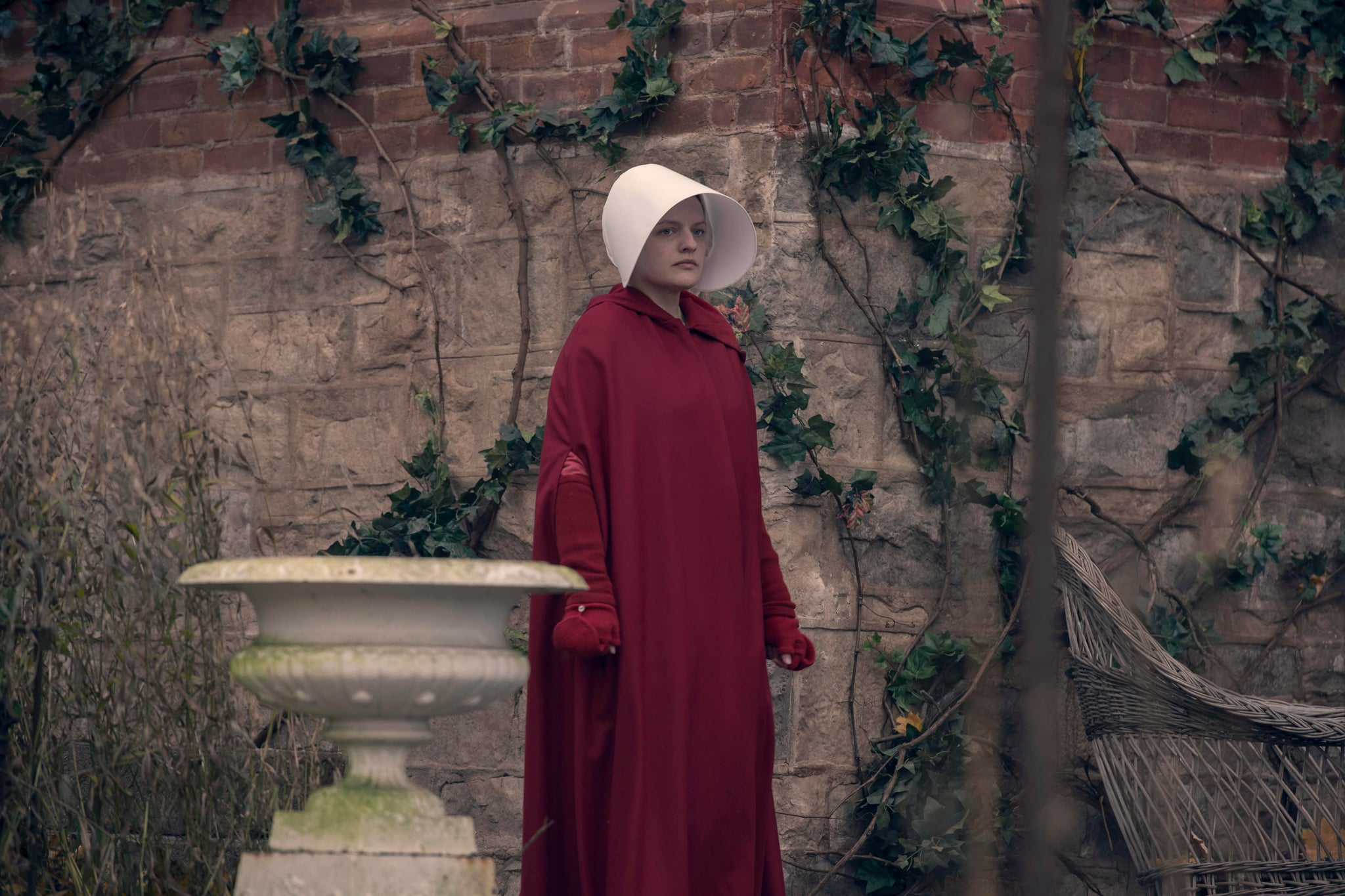 THE HANDMAID'S TALE, Elizabeth Moss, 'Mary and Martha', (Season 3, Episode 302, aired June 5, 2019). photo: Ely Dassas / Hulu / Courtesy Everett Collection