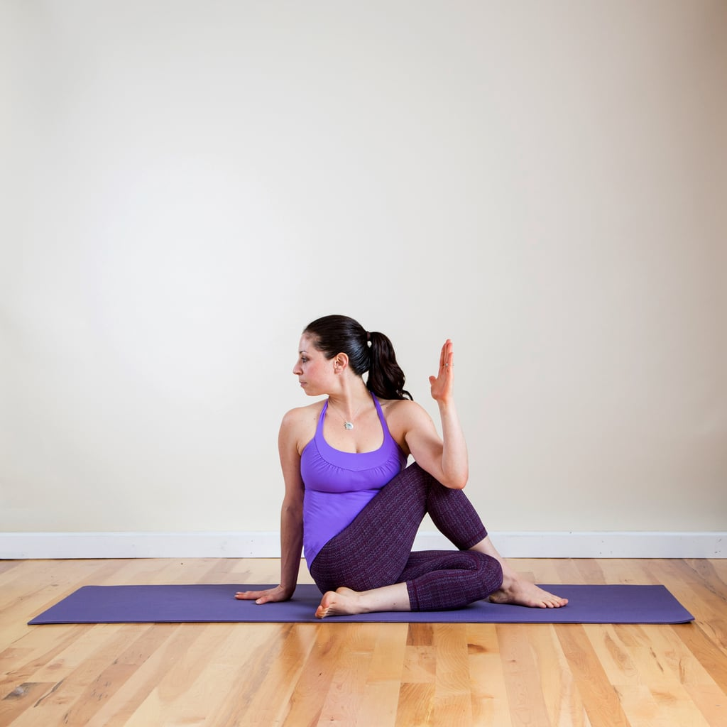 One-Legged Seated Spinal Twist