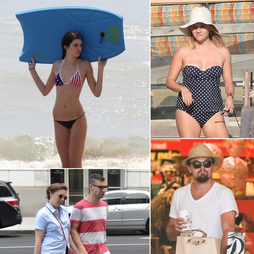 Celebrities Celebrating Fourth of July Independence Day 2013