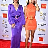 Chloe x Halle Wearing Sergio Hudson at the 50th NAACP Image Awards