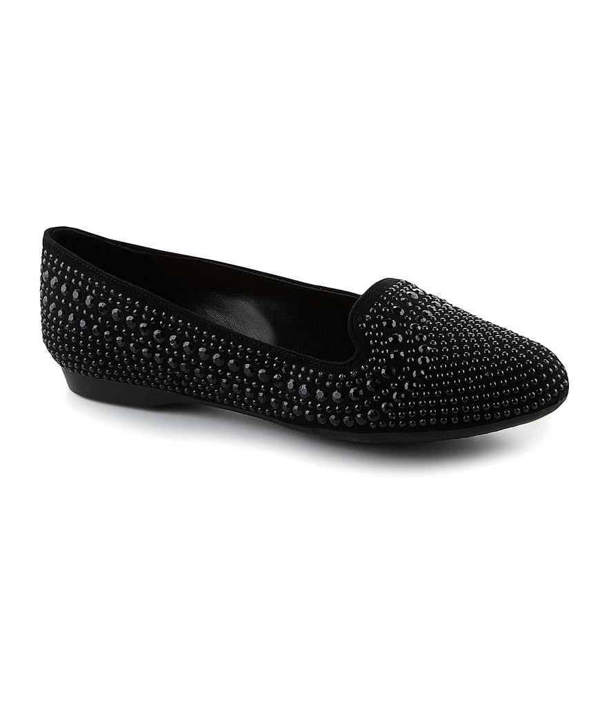 Gianni Bini Richee Smoking Slippers ($80)