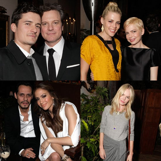 Pictures of Kate Bosworth, Orlando Bloom, Michelle Williams, Colin Firth, and More at a King's Speech Party