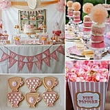 A Tea Party That's Full of Tutus!