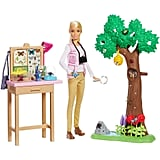 Barbie x National Geographic Butterfly Scientist Playset