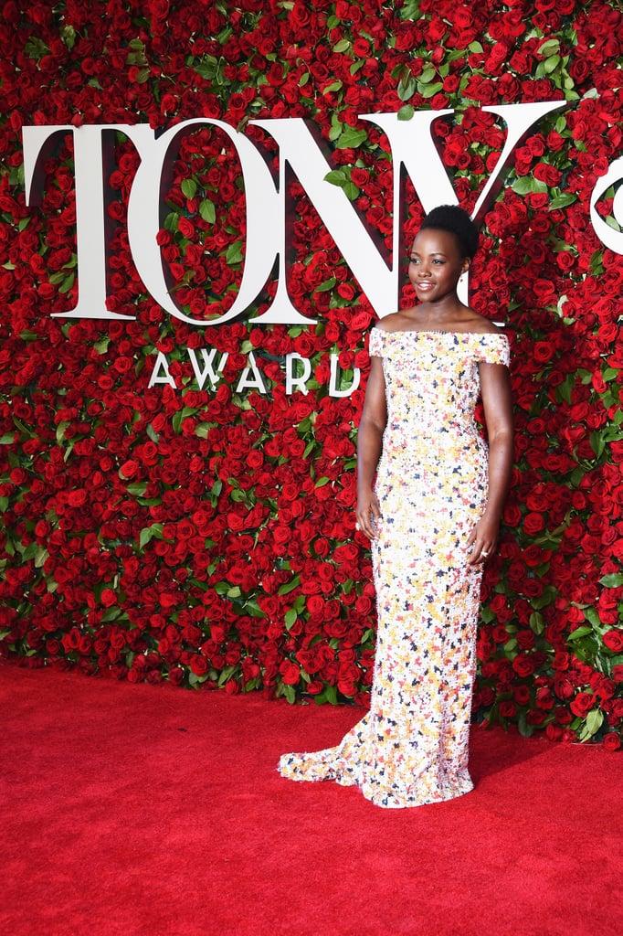 Lupita Nyong'o at the Tony Awards 2016