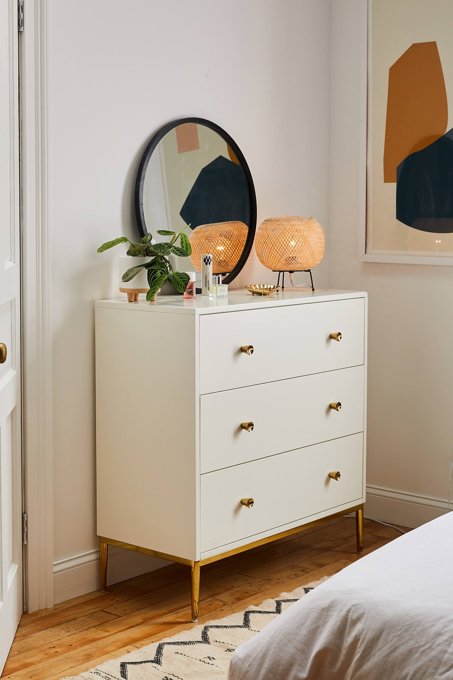 Cleo 3-Drawer Dresser | 17 Bedroom Furniture Pieces That Are ...