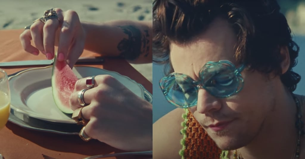 Harry Styles's Nails in Watermelon Sugar Music Video
