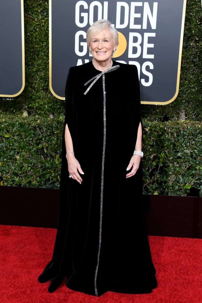 Glenn Close at the 2019 Golden Globes