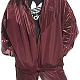 adidas Velvet Zip Sweatshirt
