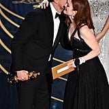 Pictured: Julianne Moore, Leonardo DiCaprio, and Oscars