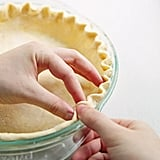 Crimping Pie Crust