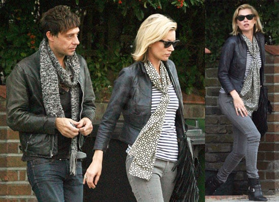 Photos of Kate Moss and Jamie Hince Out in London 2008-10-19 08:00:00