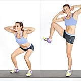 Squat With Standing Side Crunch
