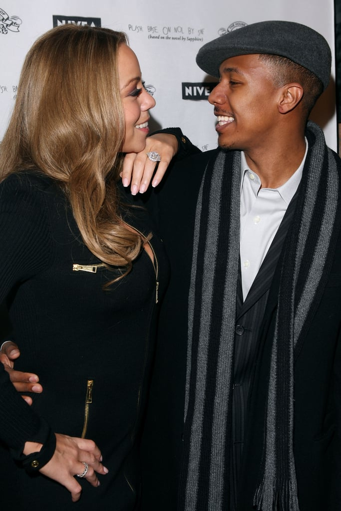 Mariah Carey gazed at Nick Cannon during a January 2009 Sundance Film Festival party in Park City, UT.