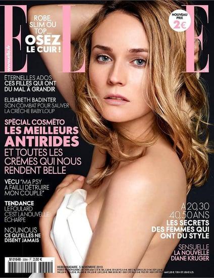Diane Kruger covers Elle France-november 2010