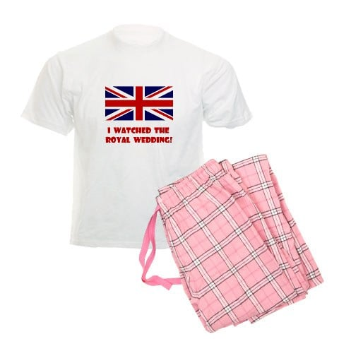 I Watched the Royal Wedding Pajamas ($30)