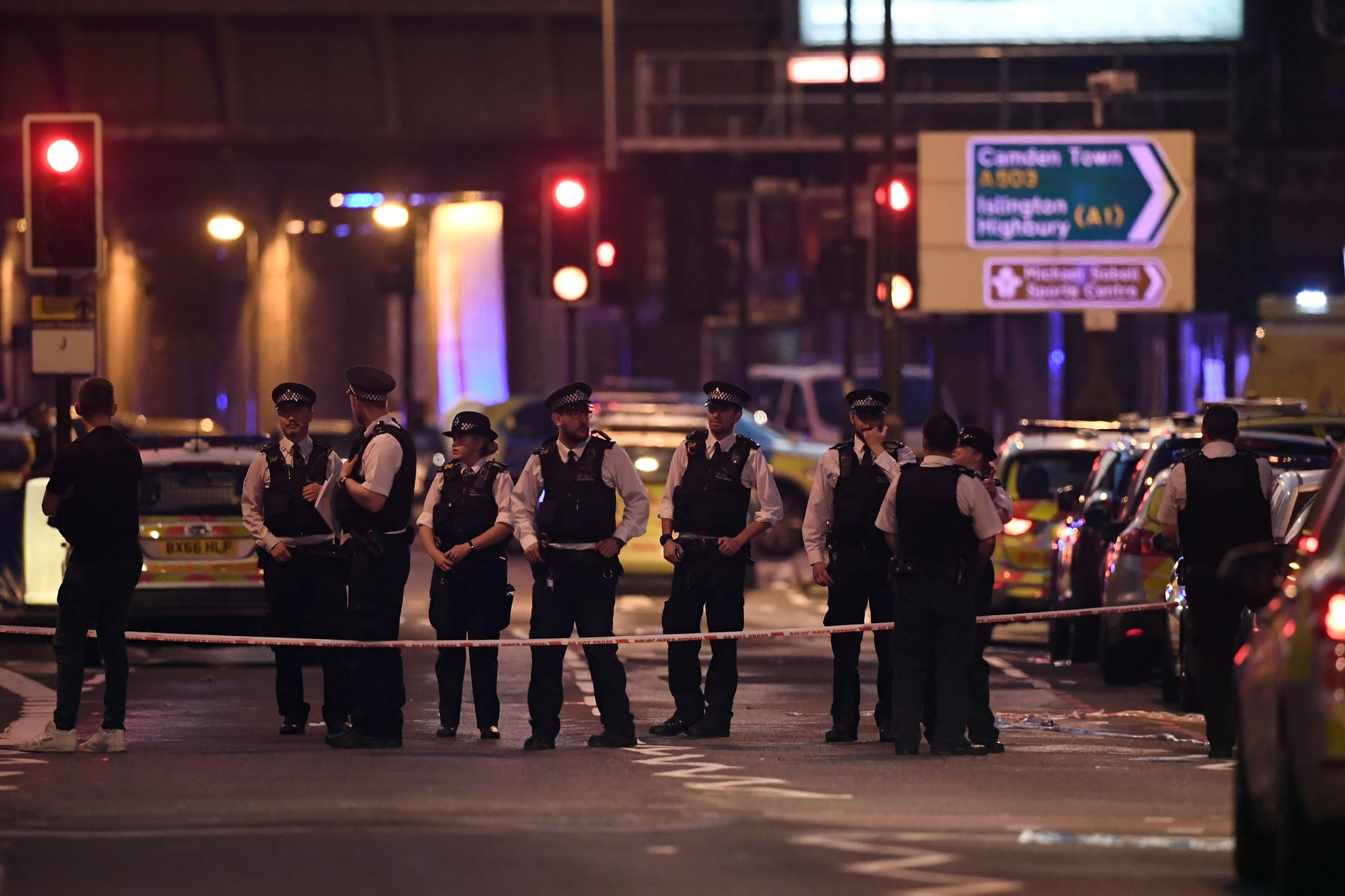 One Dead And Ten Injured In London Following Suspected Terror Attack