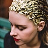 Putting Gold Leaf on Your Head Is the Ultimate Holiday Hair Hack