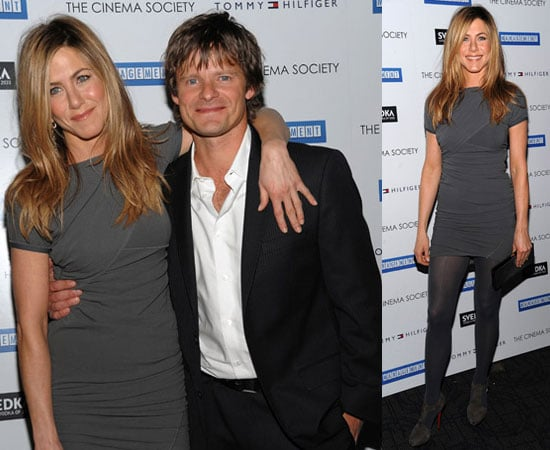 Jennifer Aniston and Steve Zahn Manage With Blue Eyes