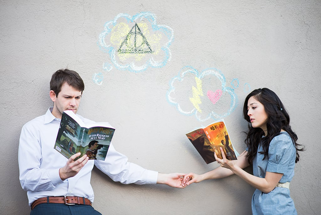 Harry Potter Engagement Shoot