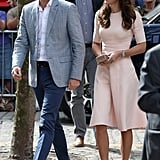 Her Outfit Perfectly Complemented Prince William's Light Look