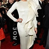 Paula Patton at the Golden Globes 2014