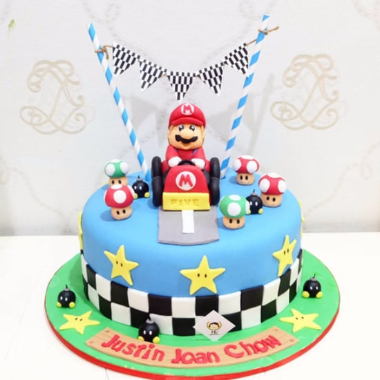 Nintendo Birthday Cakes For Kids