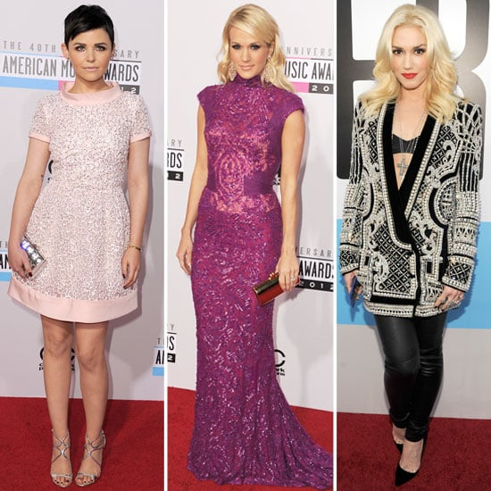 Shimmer, Shine, and Embellishments — Par For the Course at the AMAs