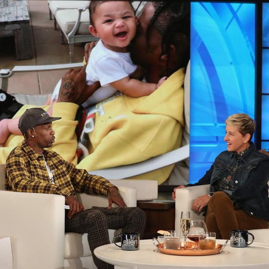 Travis Scott Talking About Kylie Giving Birth on Ellen