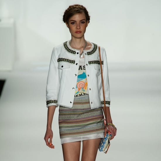 2014 Spring New York Fashion Week Runway Rebecca Minkoff
