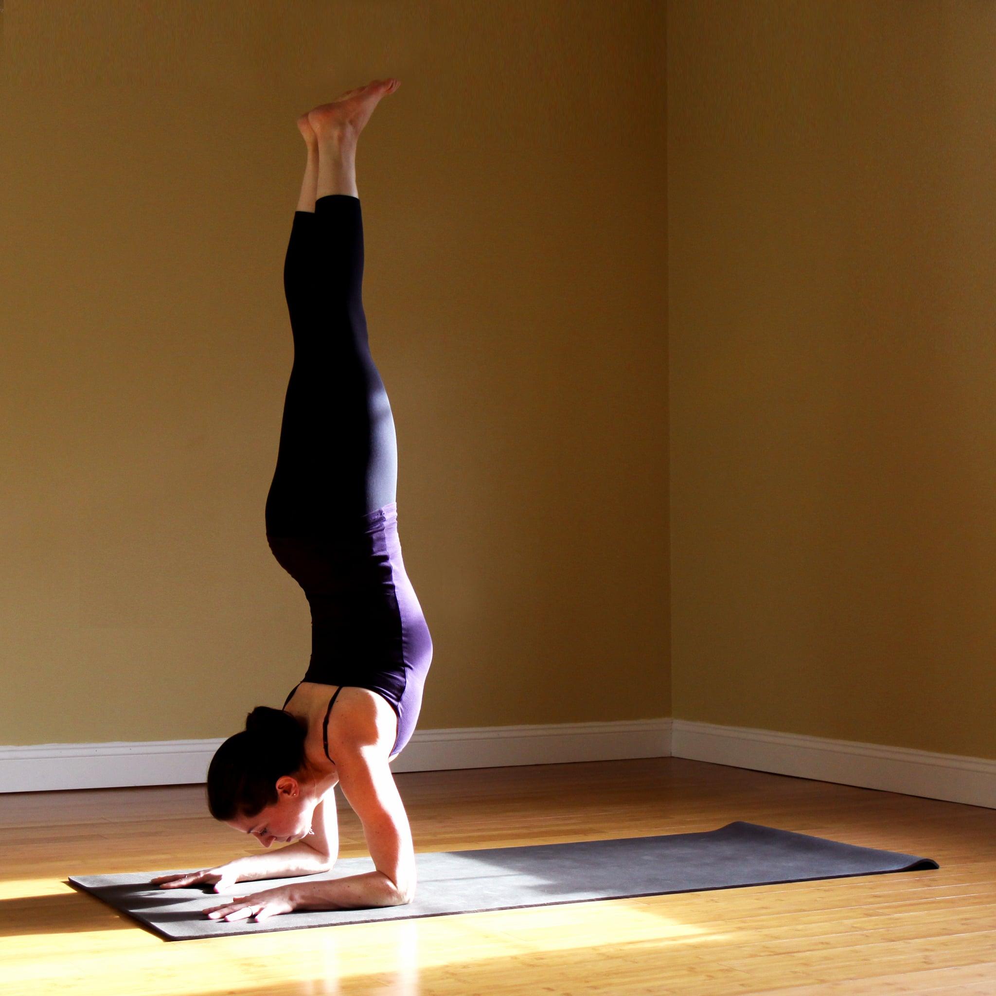 Strike A Yoga Pose Forearm Stand