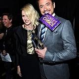 Naomi Watts and Robert Downey Jr.