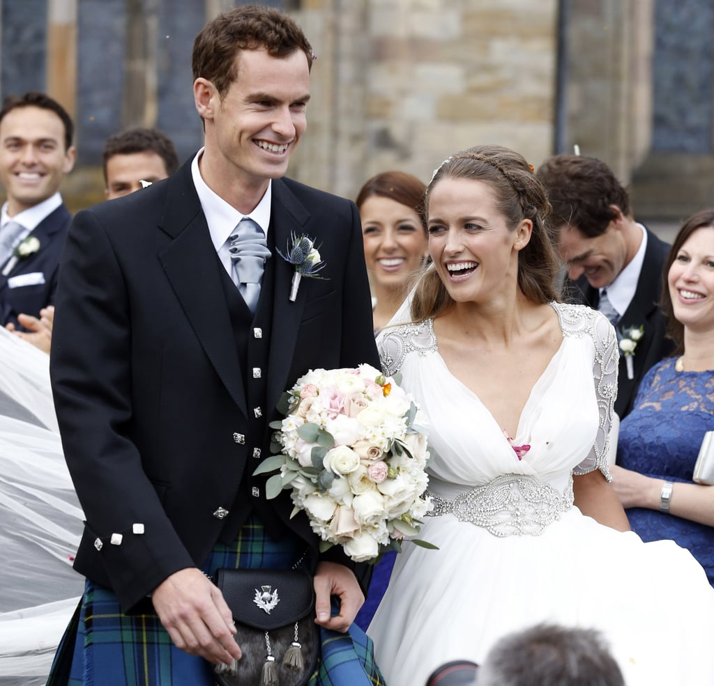 Andy Murray And Kim Sears Wedding Pictures POPSUGAR Celebrity - Sears Dresses For Wedding Guest