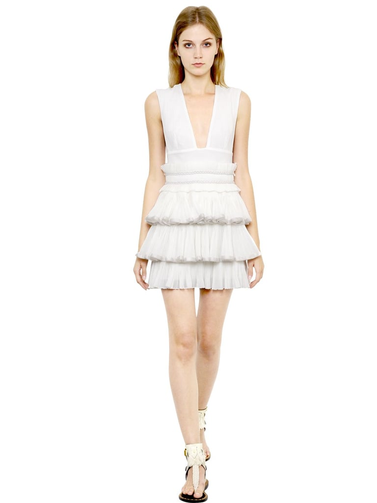 Isabel Marant Dress With Pleated Ruffles