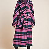 Chrysanthemum Plaid Coat