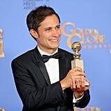 Gael Garcia Bernal at Golden Globes 2016