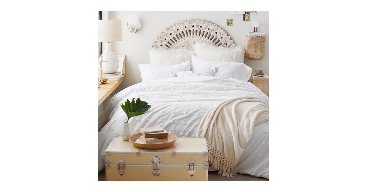 Mandala Carved Faux Headboard Best Dorm Essentials From