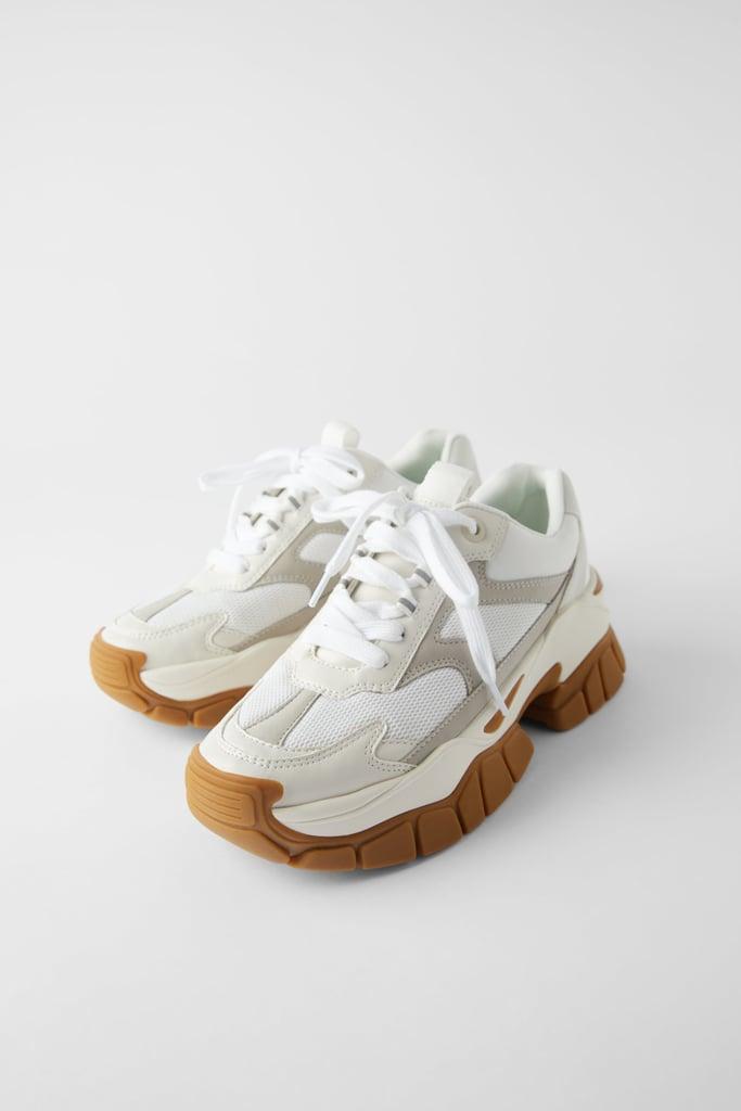 Zara Lug Sole Sneakers