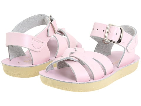 A pair of classic Salt Water sandals ($35) is super feminine in pale pink.