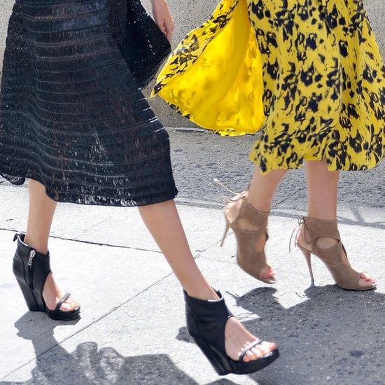 Don't know what shoes to wear during those transitional Spring days? Here's your answer.