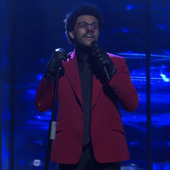 "The Weeknd's ""Blinding Lights"" and ""Scared to Live"" SNL Sets"
