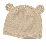 Our knit bear baby beanie ($28) ishand-knit by women artisansusing soft Peruvian alpaca. It's a perfect baby gift!